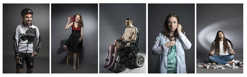 חמש התמונות מהתערוכה